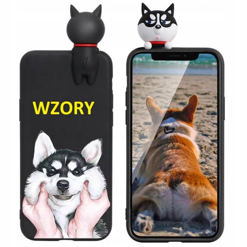 Etui case CZARNY PIESEK do Samsung Galaxy A21s