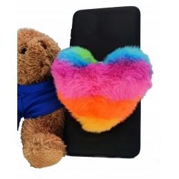 Etui case SERCE TĘCZA do Samsung Galaxy M21