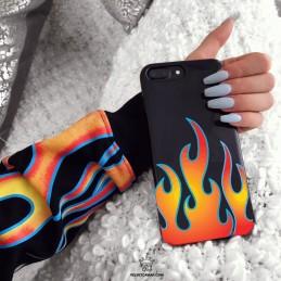 Etui case 3d OGIEŃ płomienie Samsung Galaxy M21