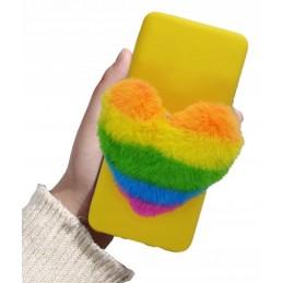 Etui case TĘCZA FUTRZANA do Samsung Galaxy A20s