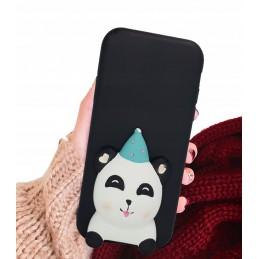 Etui case 3d Malowana panda do Samsung Galaxy A21s