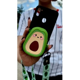 Etui Smycz avocado Portfel Samsung Galaxy A21s