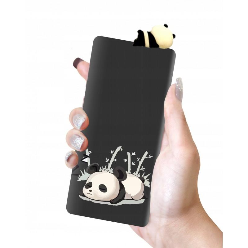 Etui case lalki wzory PANDA 3D Samsung Galaxy A21s