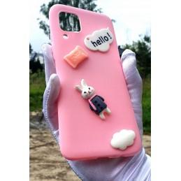 Etui case Króliczek Pink do Samsung Galaxy A21s