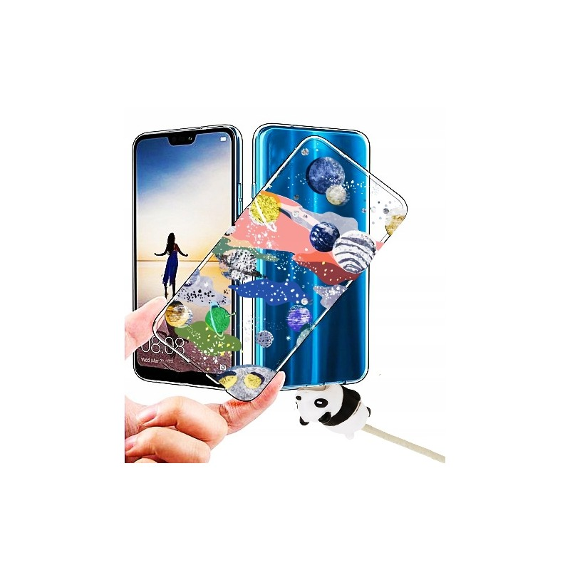Etui clear KOSMOS 32 wzory Samsung Galaxy A21s