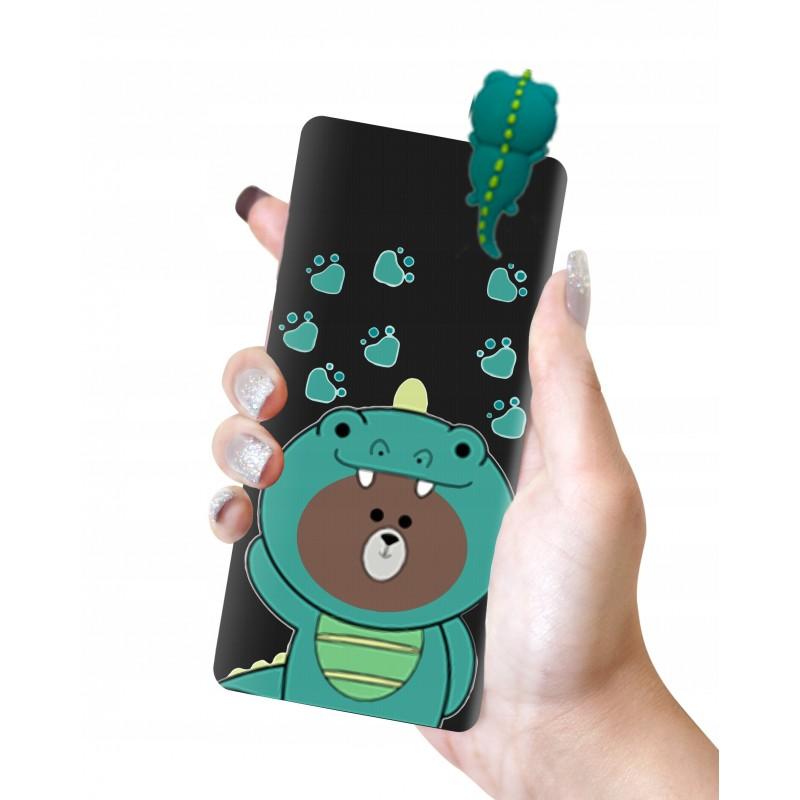 Etui case lalka MIŚ dinozaur 3D Samsung Galaxy M21