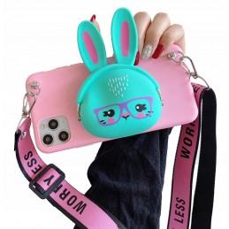 Etui case 3d KRÓLICZEK BAG Samsung Galaxy M21