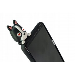 Etui case 3d BULDOG łapki do Samsung Galaxy M21