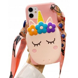 Etui case 3d UNICORN PONY Samsung Galaxy M21