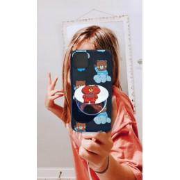 Etui PIESEK JAKE z brelokiem Samsung Galaxy M21