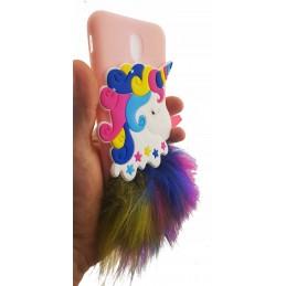 Etui do Samsung Galaxy M21 Futro Jednorożec