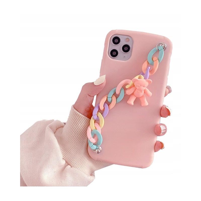 Etui case 3d MIŚ Łańcuszek Samsung Galaxy M21
