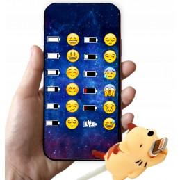 Etui wzory osłona kabla Samsung Galaxy A51