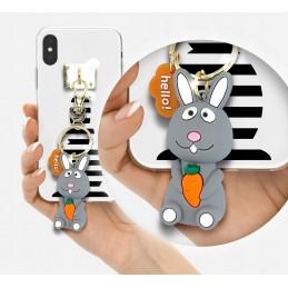 Etui Kot Breloczek 3D na Samsung Galaxy S9