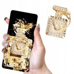 Etui Brokatowe diamentowe Samsung Galaxy S9 Brokat