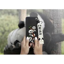 Etui Panda ze smyczą do wielu modeli