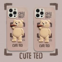 Etui Teddy bear miś do wielu modeli