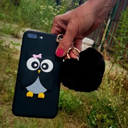 Etui Sowa Sówka BRELOK do Samsung Galaxy S7