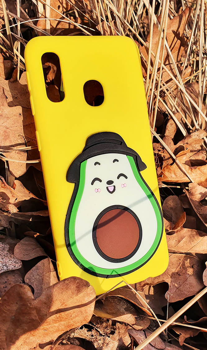 Etui awokado case owoc pokrowiec na telefon