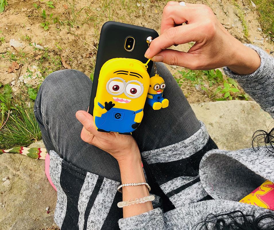 Mionionek 3d etui Huawei P smart 2019 z portfelikiem