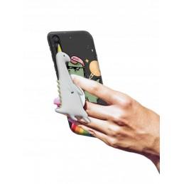 Etui Wzory + uchwyt Virus do Huawei P Smart Pro