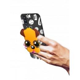 Etui + uchwyt wzory Myszka do Huawei P Smart Pro