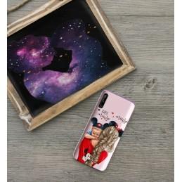 Etui Wzory Super Mama do Huawei P smart Pro