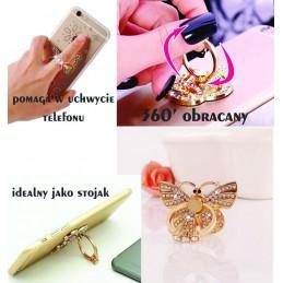 Etui gumowe Ring PERFUMY diamenty do wielu modeli
