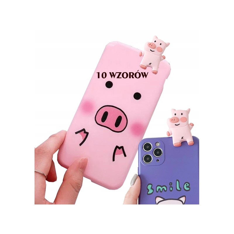 Etui case PROSIACZEK PIG do Samsung Galaxy A21s