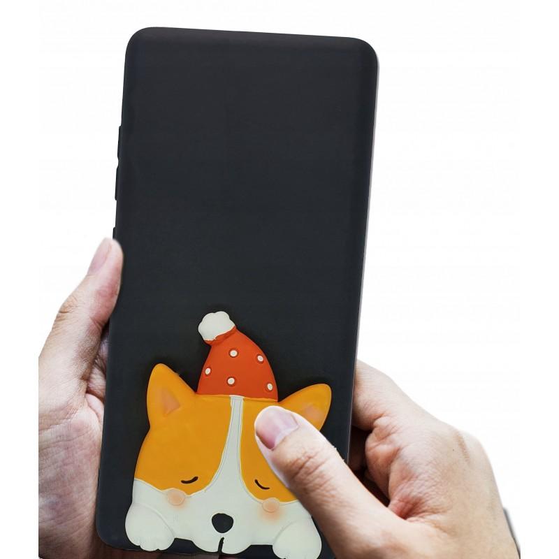 Etui case 3d Piesek Corgi do Samsung Galaxy A21s