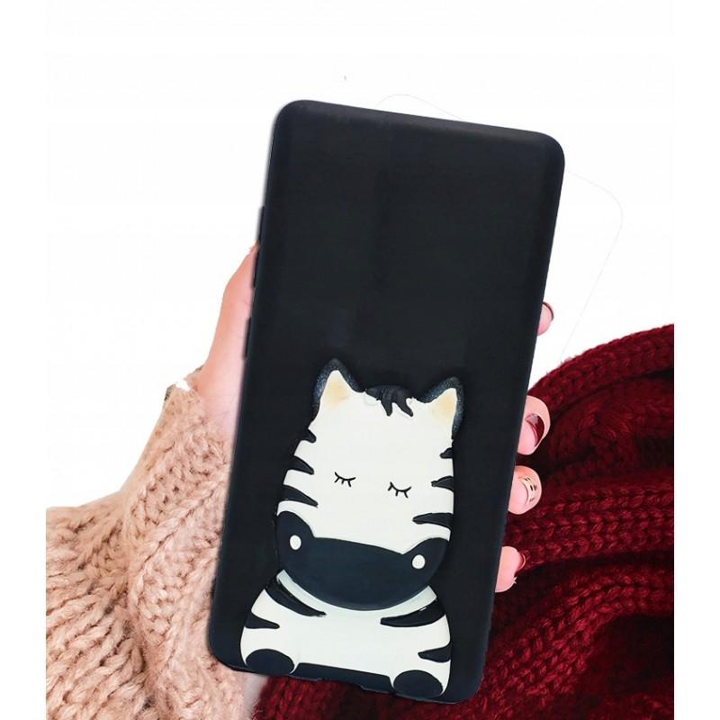 Etui case 3d Francuski dog do Samsung Galaxy A21s
