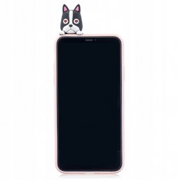 Etui case 3d Francuski PIES Samsung Galaxy A21s