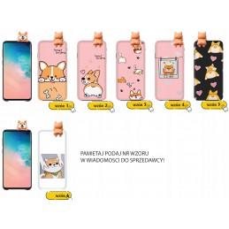 Etui case PIES 3d Corgi do Samsung Galaxy A21s