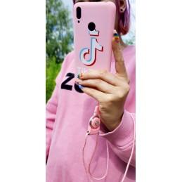 Etui różowe pink wzory Samsung Galaxy A21s