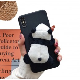 Etui case 3d Malowana panda do Samsung Galaxy A21s