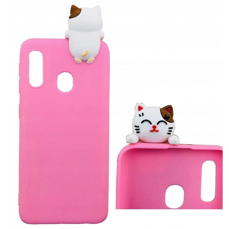 Etui case KOTEK CAT 3D do Samsung Galaxy A21s