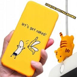 etui przezroczyste BILET wzory Samsung Galaxy A21s