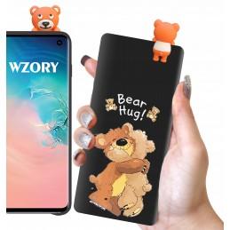 Etui OGIEŃ PŁOMIENIE wzory Samsung Galaxy M21