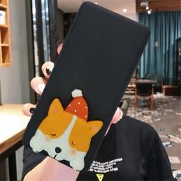 Etui case 3d Piesek Corgi do Samsung Galaxy M21