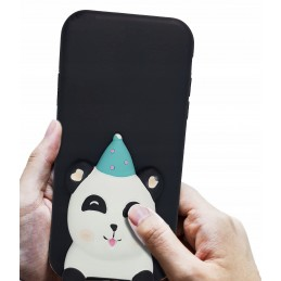Etui case 3d Malowana panda do Samsung Galaxy M21