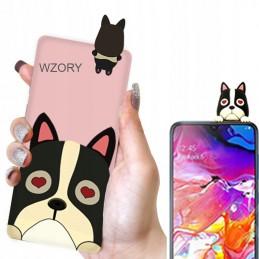 Etui case 3d Francuski PIES Samsung Galaxy M21