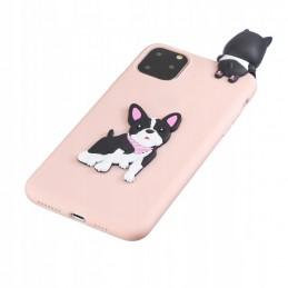 Etui case 3d French Bulldog Samsung Galaxy M21