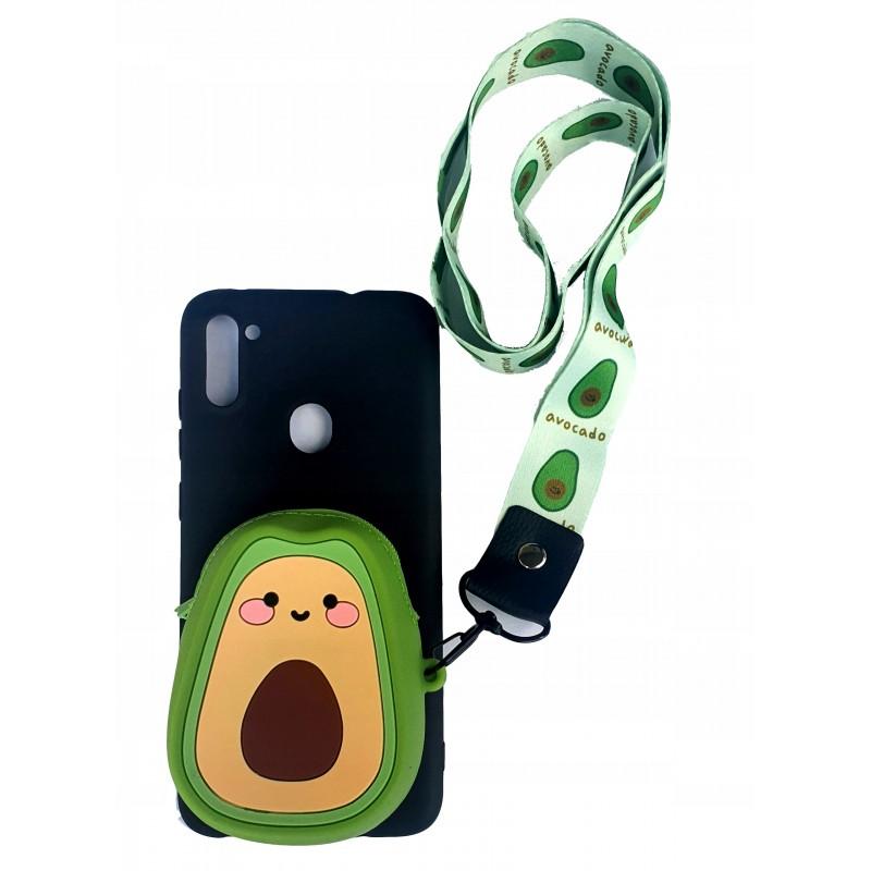 Etui Smycz avocado Portfel Samsung Galaxy M21