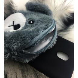Etui Miś Portfelik do Samsung Galaxy M21