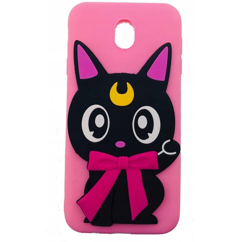 Etui case KOT CAT NOC do Samsung Galaxy M21