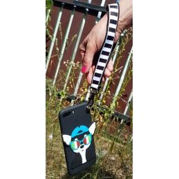 Etui Pies Piesek SMYCZKA do Samsung Galaxy M21