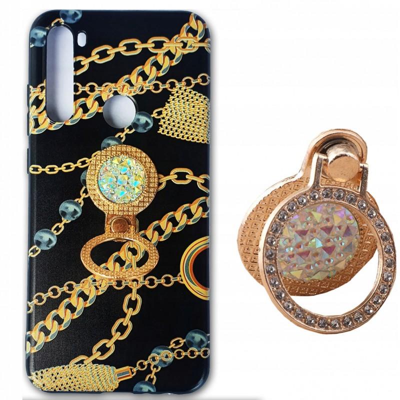 Etui case ring DIAMENTY WZORY Samsung Galaxy M21
