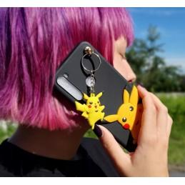 Etui case Pikachu Brelok 3d do Samsung Galaxy M21