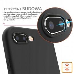 Etui guma PANDA futrzana Samsung Galaxy M21