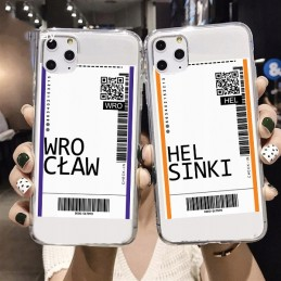 etui przezroczyste BILET wzory Samsung Galaxy A51